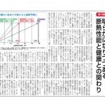 市民タイムス(長野県)連載・第19回 明らかになりつつある断熱性能と健康との関わり
